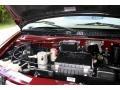 2002 Dark Carmine Red Metallic Chevrolet Astro LS  photo #92