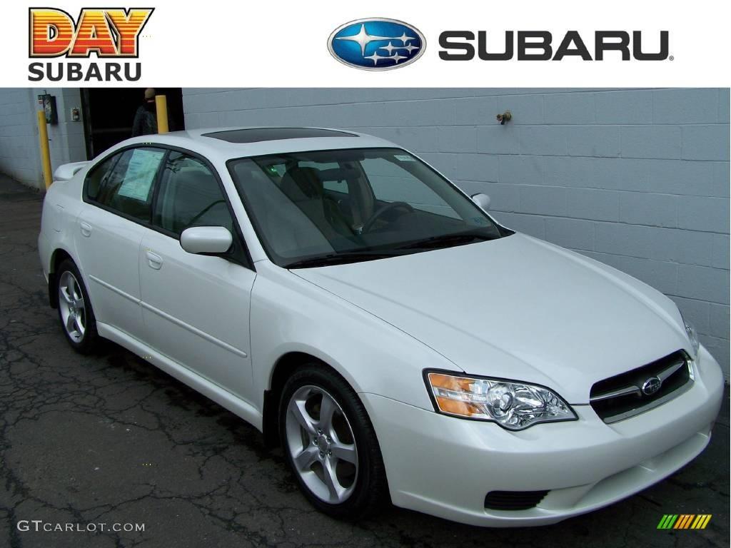 2006 satin white pearl subaru legacy 25i special edition sedan satin white pearl subaru legacy vanachro Gallery