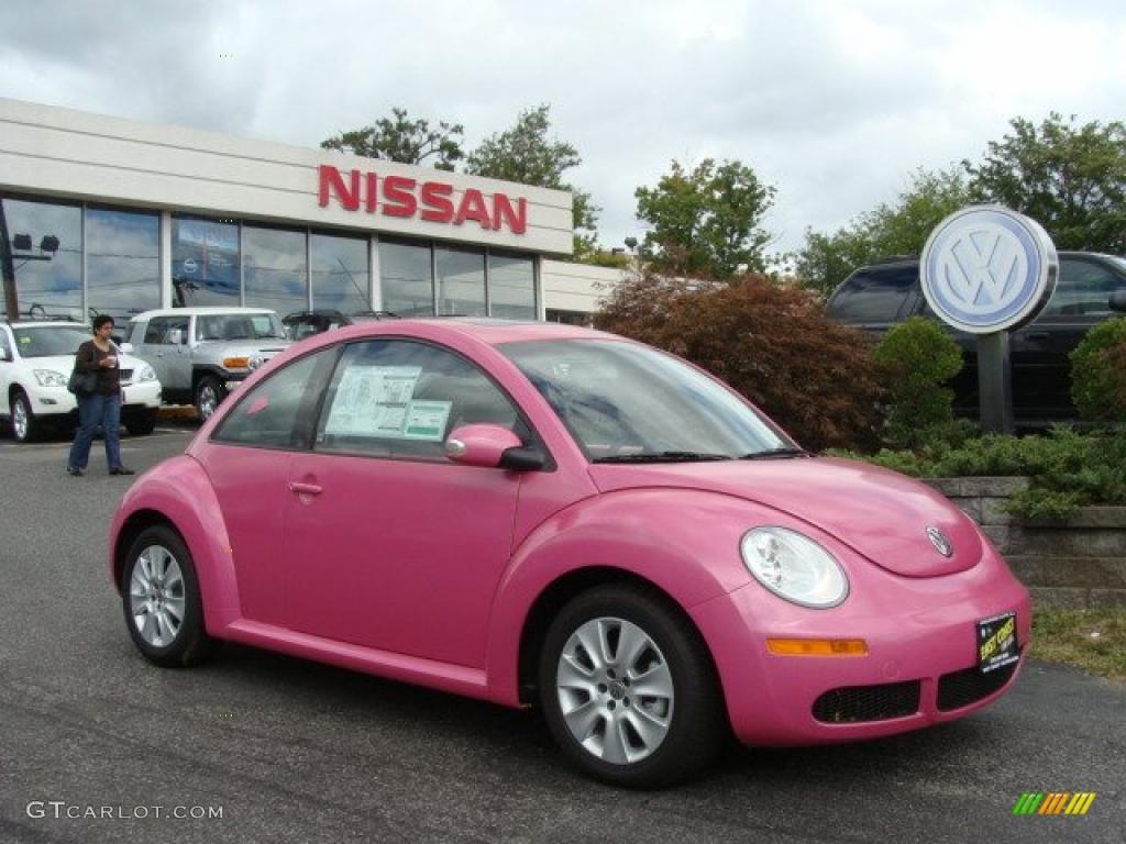 2010 pink volkswagen new beetle 2 5 coupe 36193138 car color galleries. Black Bedroom Furniture Sets. Home Design Ideas