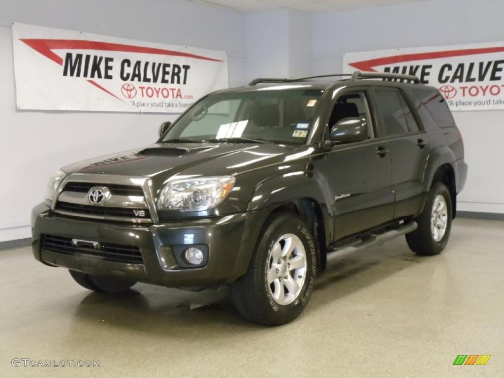 2007 toyota 4runner sport edition shadow mica color dark charcoal