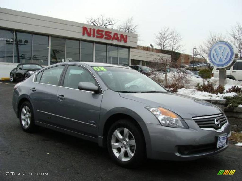 2008 Precision Gray Metallic Nissan Altima Hybrid 3570849