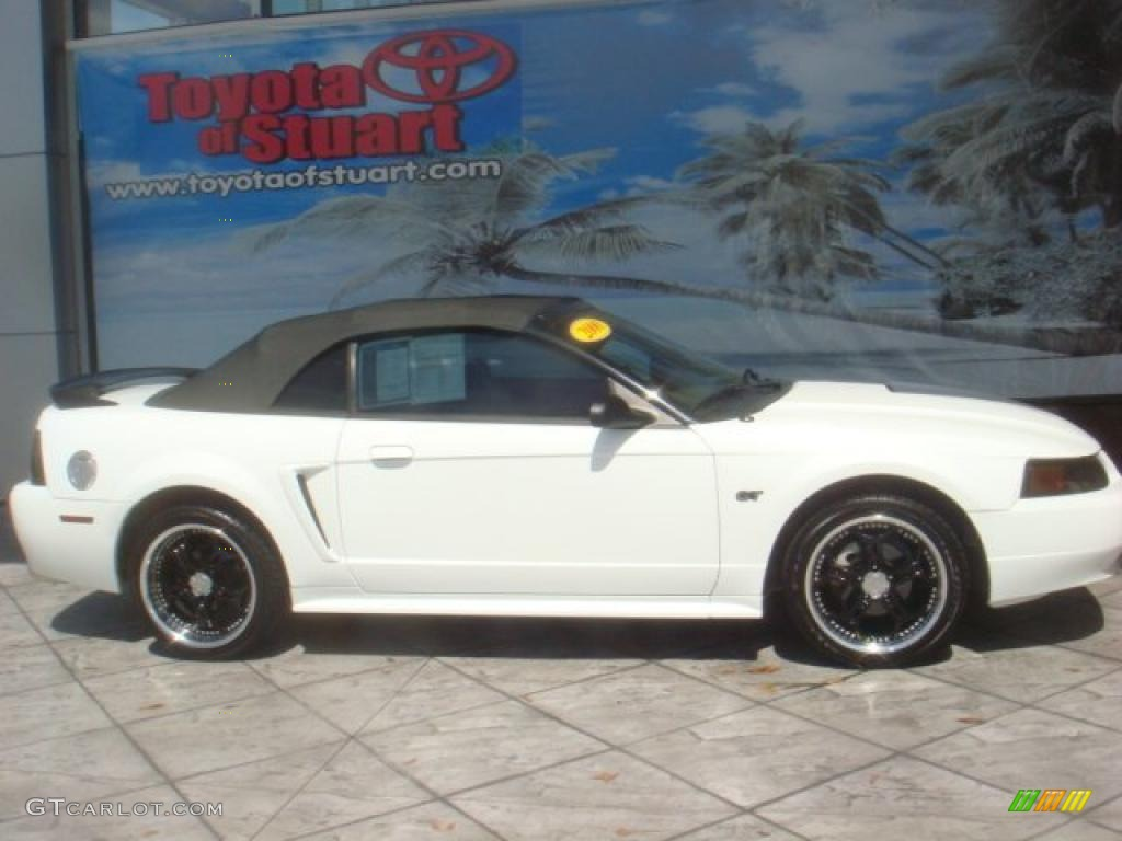 2000 Crystal White Ford Mustang Gt Convertible 36064855