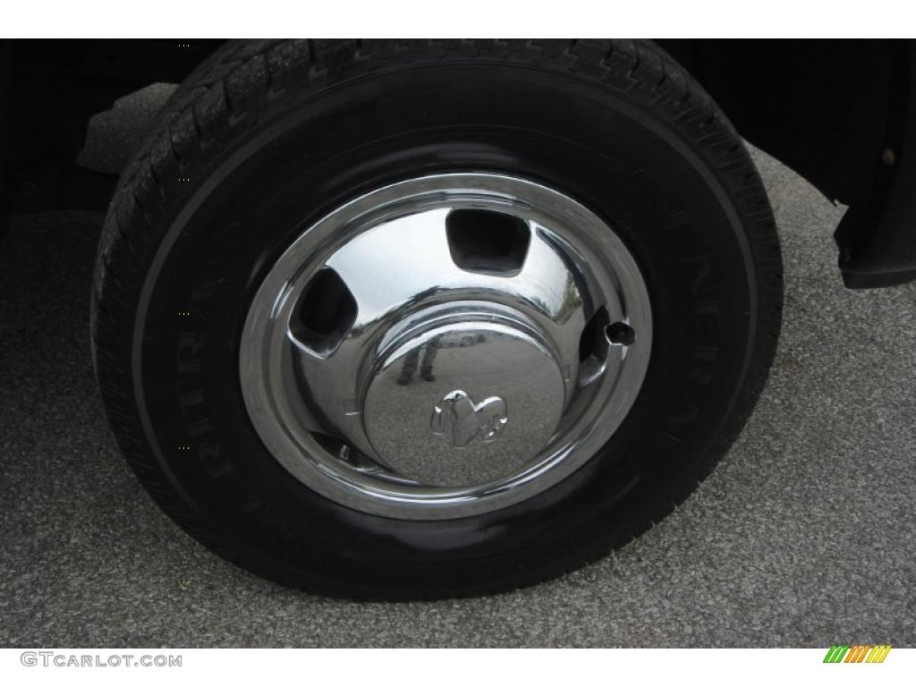 2007 Ram 3500 Laramie Mega Cab 4x4 Dually - Brilliant Black Crystal Pearl / Medium Slate Gray photo #18