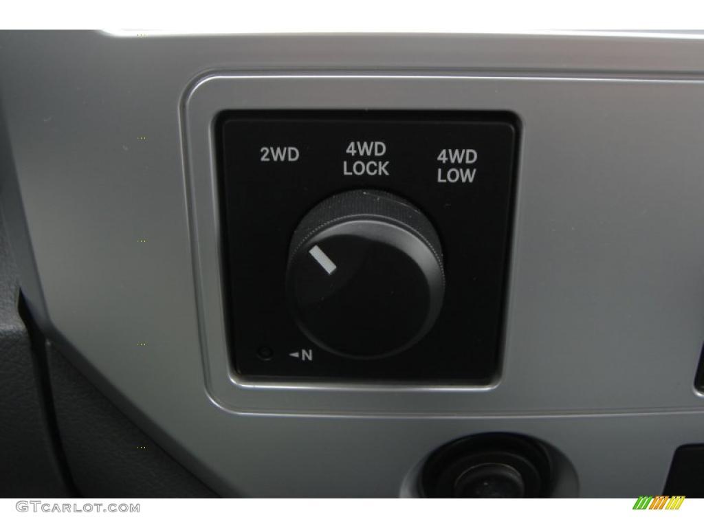 2007 Ram 3500 Laramie Mega Cab 4x4 Dually - Brilliant Black Crystal Pearl / Medium Slate Gray photo #42