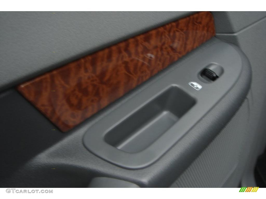 2007 Ram 3500 Laramie Mega Cab 4x4 Dually - Brilliant Black Crystal Pearl / Medium Slate Gray photo #49