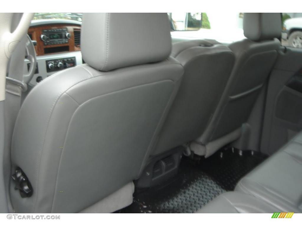 2007 Ram 3500 Laramie Mega Cab 4x4 Dually - Brilliant Black Crystal Pearl / Medium Slate Gray photo #50