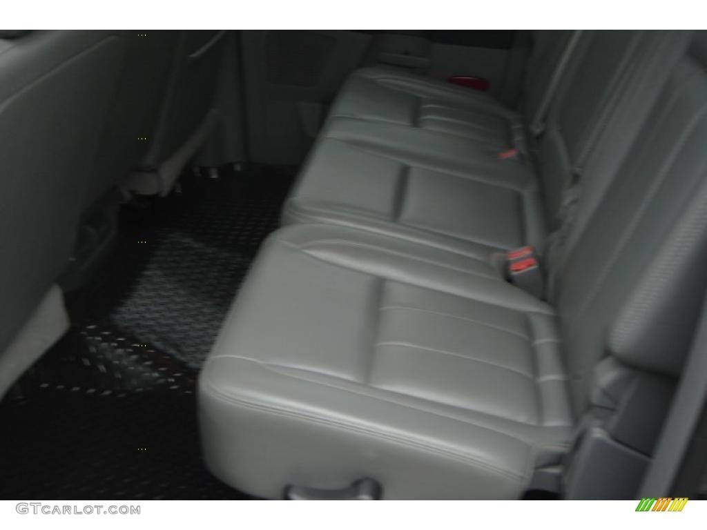 2007 Ram 3500 Laramie Mega Cab 4x4 Dually - Brilliant Black Crystal Pearl / Medium Slate Gray photo #51