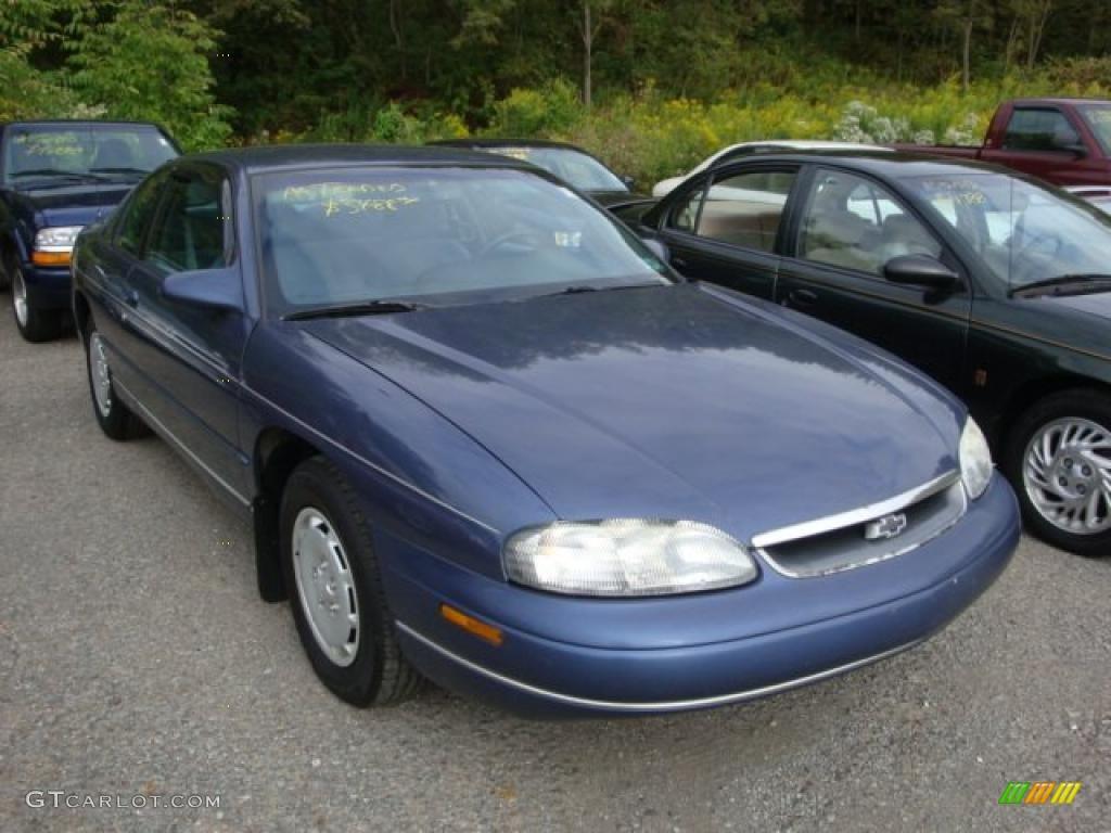1995 medium adriatic blue metallic chevrolet monte carlo ls coupe 36193263 gtcarlot com car color galleries gtcarlot com