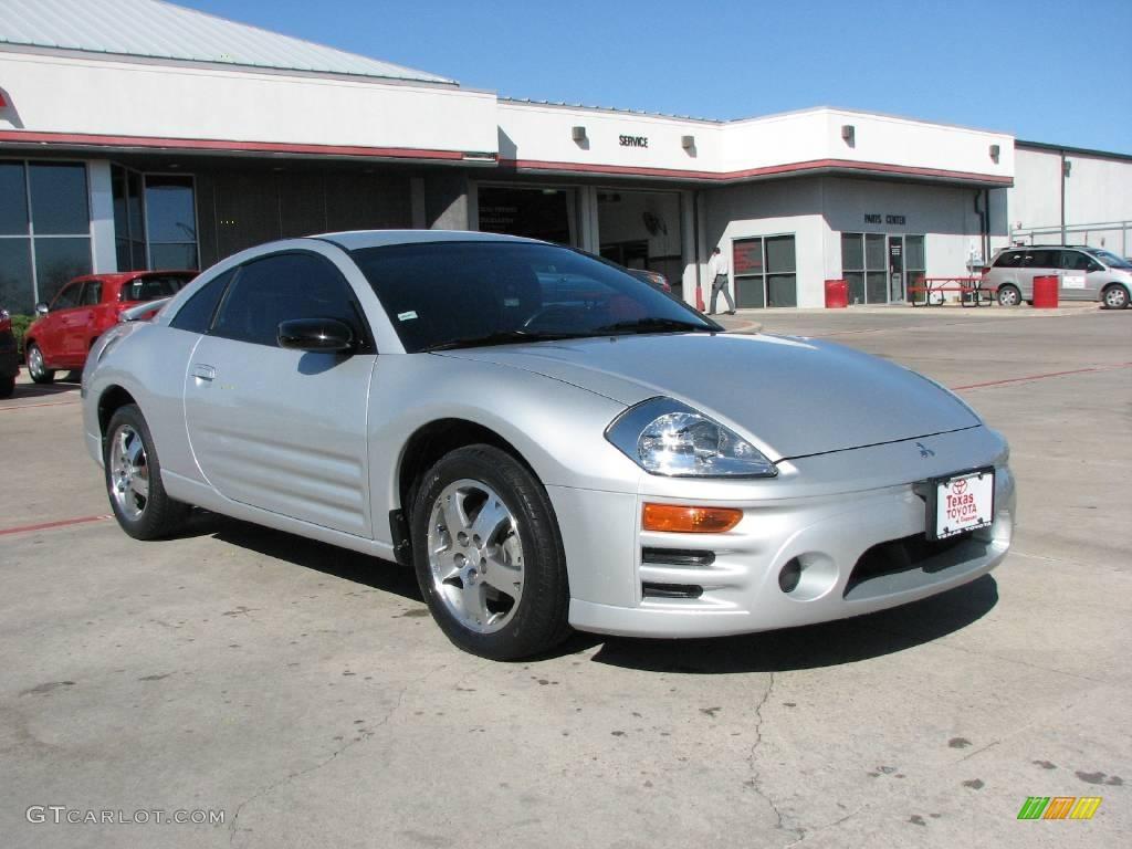 Liquid Silver Mitsubishi Eclipse Gs Coupe