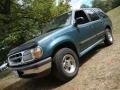 1997 Medium Willow Metallic Ford Explorer XLT 4x4  photo #1