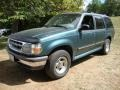 1997 Medium Willow Metallic Ford Explorer XLT 4x4  photo #2