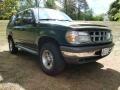 1997 Medium Willow Metallic Ford Explorer XLT 4x4  photo #5