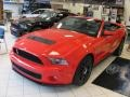 2011 Race Red Ford Mustang Shelby GT500 SVT Performance Package Convertible  photo #1