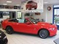 2011 Race Red Ford Mustang Shelby GT500 SVT Performance Package Convertible  photo #2