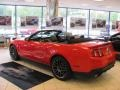 2011 Race Red Ford Mustang Shelby GT500 SVT Performance Package Convertible  photo #5