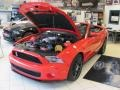 2011 Race Red Ford Mustang Shelby GT500 SVT Performance Package Convertible  photo #6