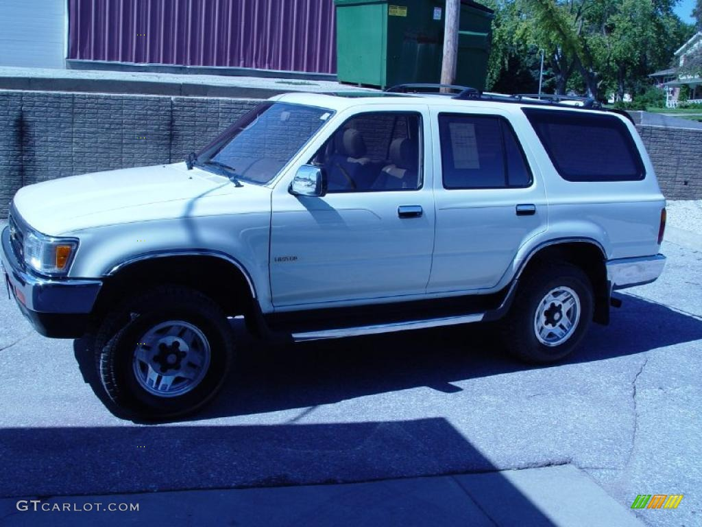 1995 white toyota 4runner sr5 v6 4x4 36332890 gtcarlot com car color galleries gtcarlot com