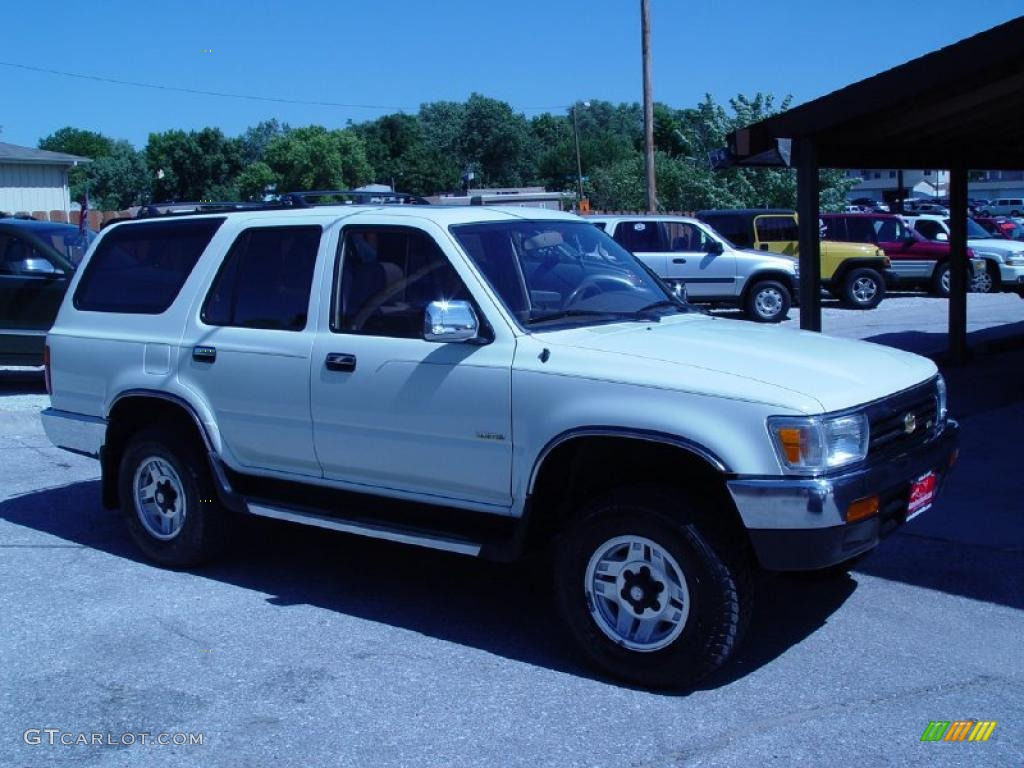 1995 white toyota 4runner sr5 v6 4x4 36332890 photo 3 gtcarlot com car color galleries gtcarlot com