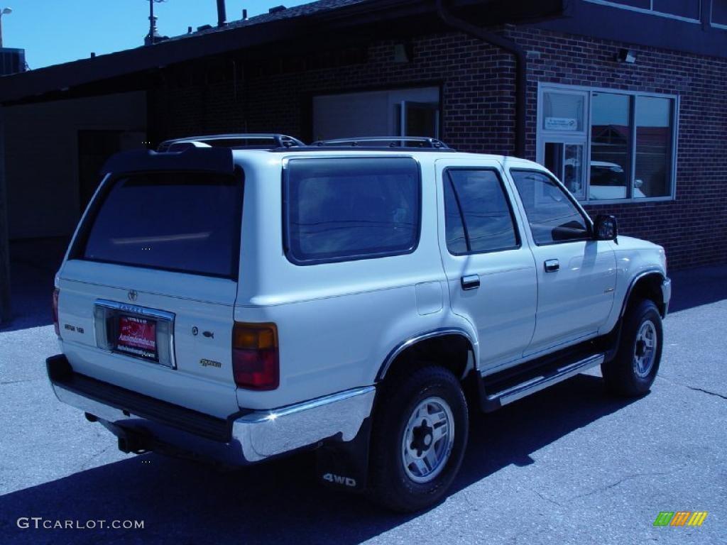 1995 white toyota 4runner sr5 v6 4x4 36332890 photo 16 gtcarlot com car color galleries gtcarlot com