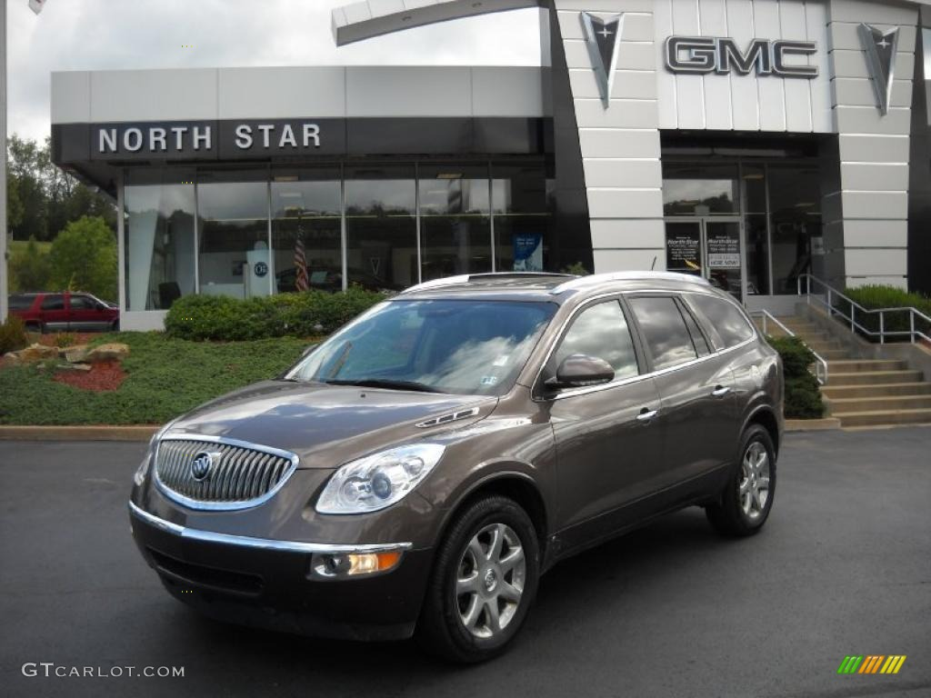 2009 Enclave CXL AWD - Cocoa Metallic / Cocoa/Cashmere photo #1
