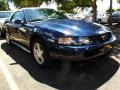 2003 True Blue Metallic Ford Mustang V6 Convertible  photo #1
