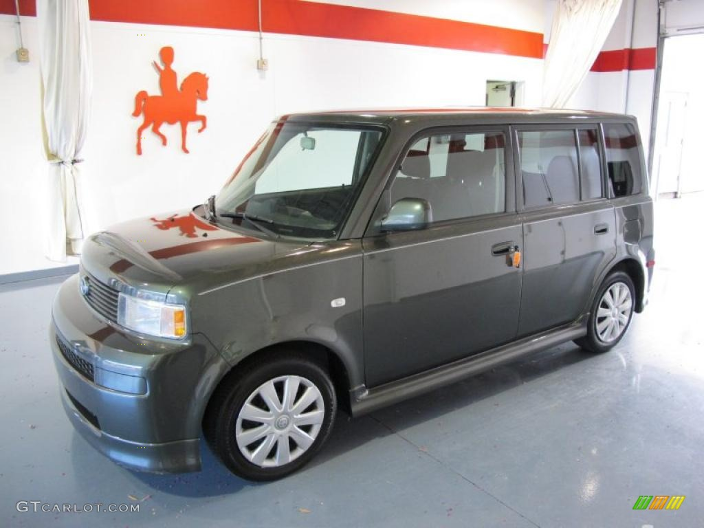 Camouflage green scion xb