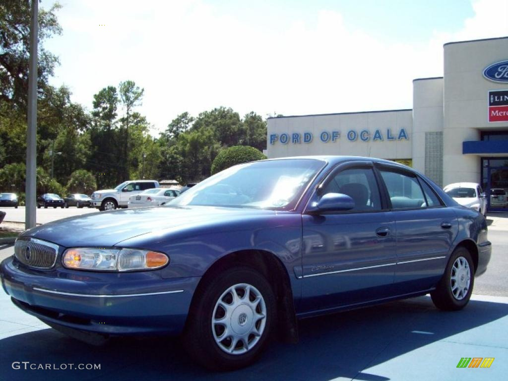 Twilight blue metallic buick century