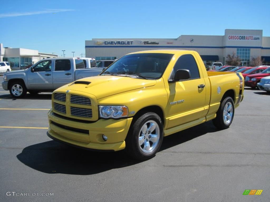 2004 solar yellow dodge ram 1500 slt rumble bee regular. Black Bedroom Furniture Sets. Home Design Ideas