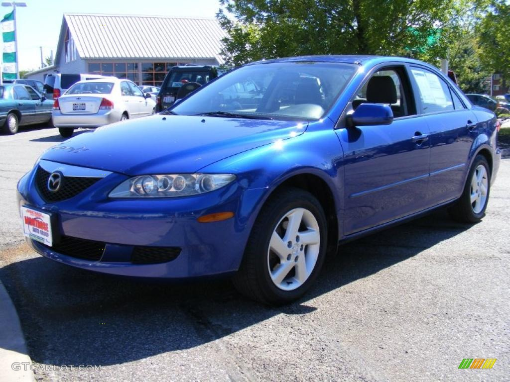 2003 sonic blue pearl mazda mazda6 i sedan 36346973 car color galleries. Black Bedroom Furniture Sets. Home Design Ideas