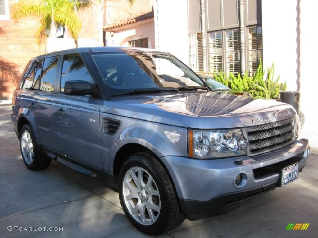 2009 izmir blue metallic land rover range rover sport hse. Black Bedroom Furniture Sets. Home Design Ideas