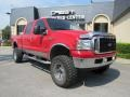 Red Clearcoat 2002 Ford F250 Super Duty Gallery
