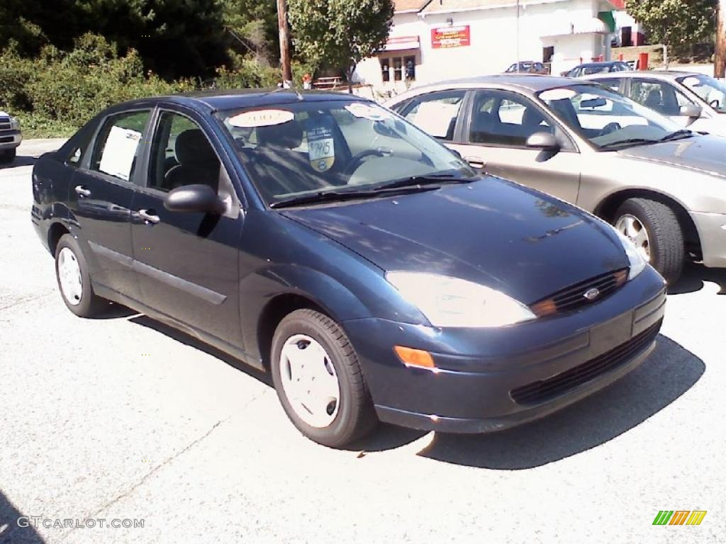 2002 twilight blue metallic ford focus lx sedan 36347007 car color galleries. Black Bedroom Furniture Sets. Home Design Ideas