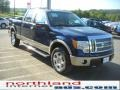 Dark Blue Pearl Metallic - F150 Lariat SuperCrew 4x4 Photo No. 4
