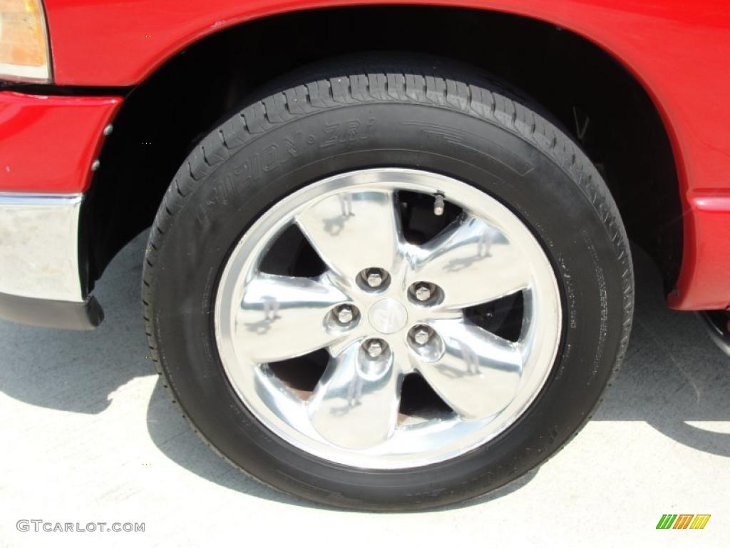 2002 Ram 1500 SLT Quad Cab - Flame Red / Dark Slate Gray photo #12