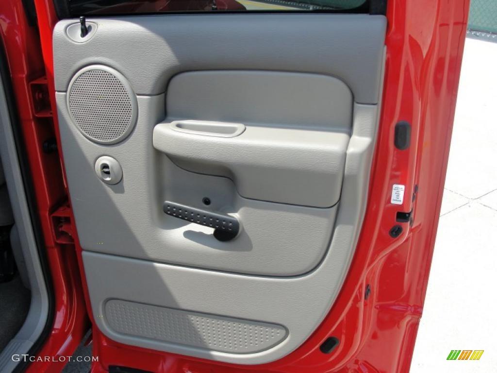 2002 Ram 1500 SLT Quad Cab - Flame Red / Dark Slate Gray photo #26