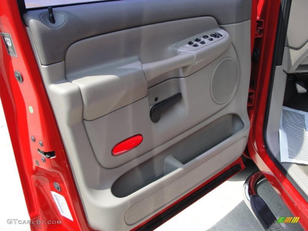 2002 Ram 1500 SLT Quad Cab - Flame Red / Dark Slate Gray photo #30