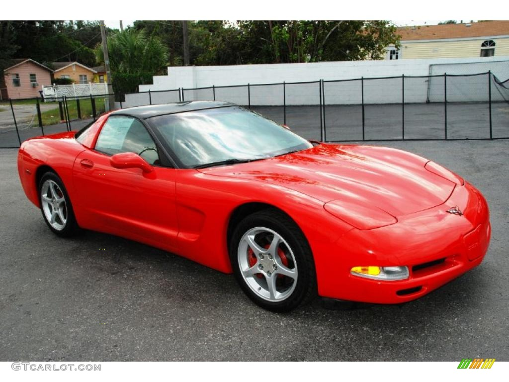 2000 torch red chevrolet corvette coupe 36406608. Black Bedroom Furniture Sets. Home Design Ideas