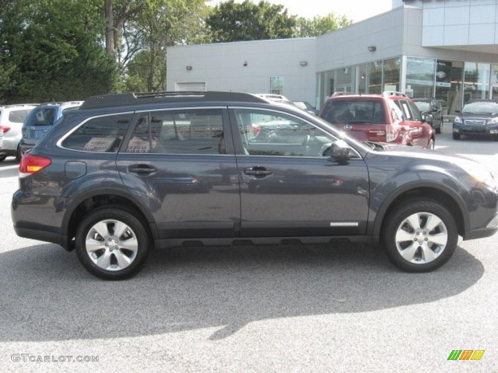 2010 Graphite Gray Metallic Subaru Outback 3 6r Limited