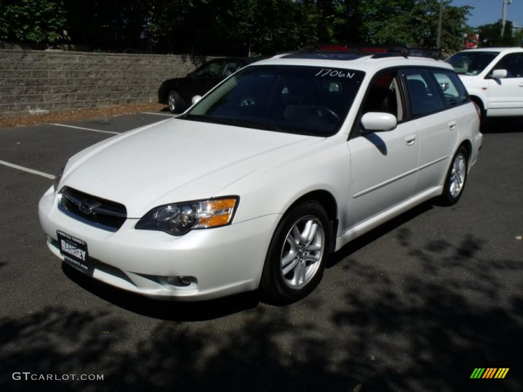 2005 satin white pearl subaru legacy limited wagon. Black Bedroom Furniture Sets. Home Design Ideas