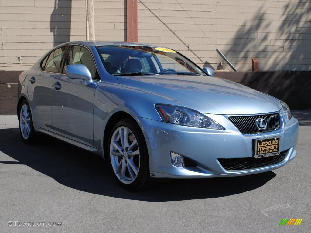 Lexus 2006 lexus is 350 : 2006 Breakwater Blue Metallic Lexus IS 350 #36406949 | GTCarLot ...