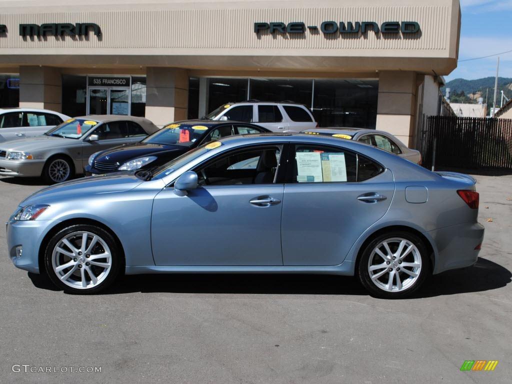 Lexus 2006 lexus is 350 : 2006 Breakwater Blue Metallic Lexus IS 350 #36406949 Photo #4 ...