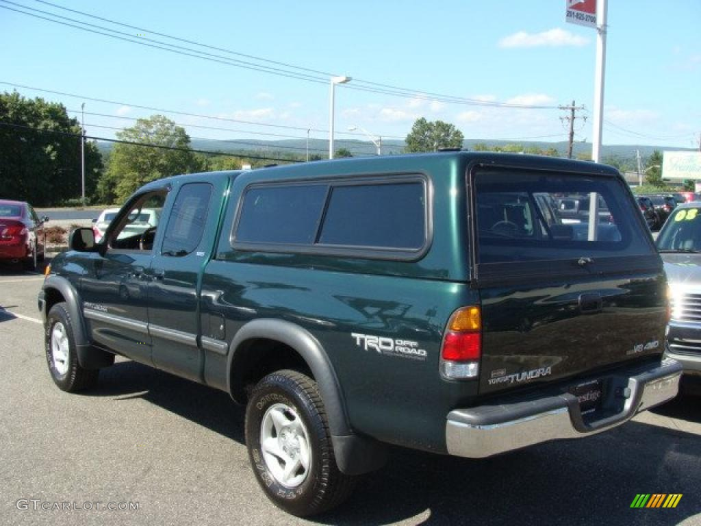 2001 Imperial Jade Mica Toyota Tundra Sr5 Trd Extended Cab