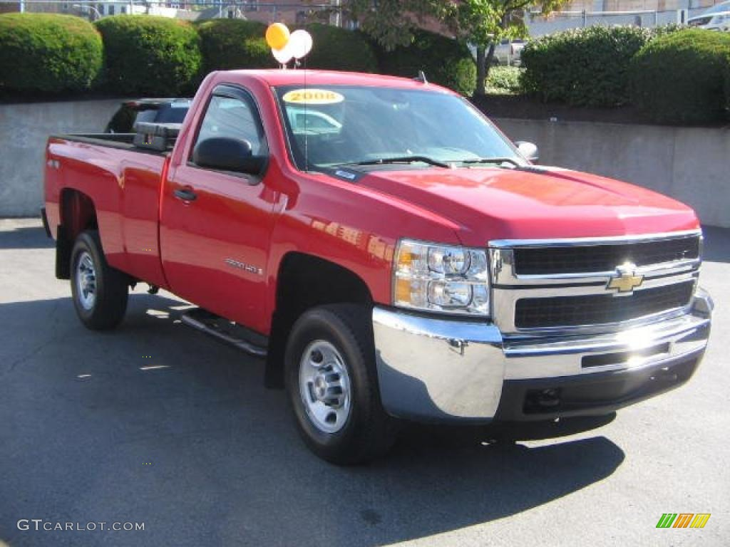 Victory Red Chevrolet Silverado 2500hd Work Truck