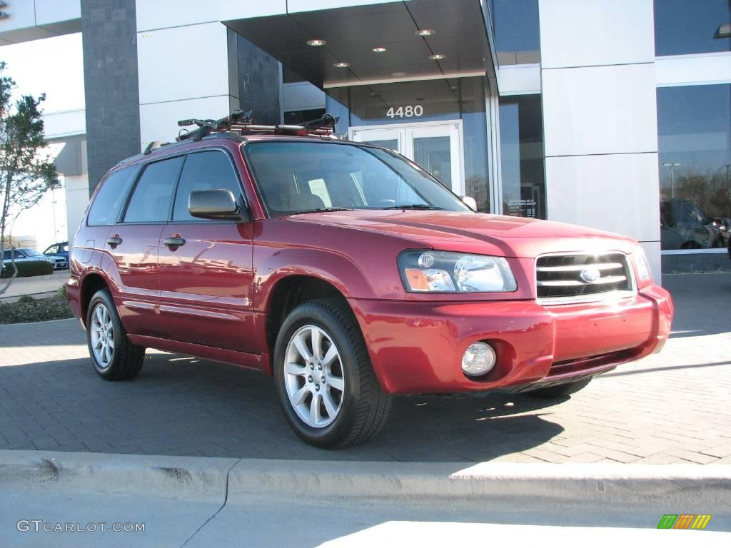 2005 Subaru Forester 2 5 Xs >> 2005 Cayenne Red Pearl Subaru Forester 2.5 XS #3641797 | GTCarLot.com - Car Color Galleries