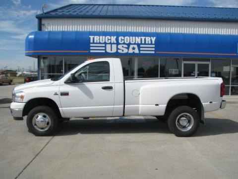 2008 Dodge Ram 3500 SLT Regular Cab 4x4 Dually Data, Info and Specs