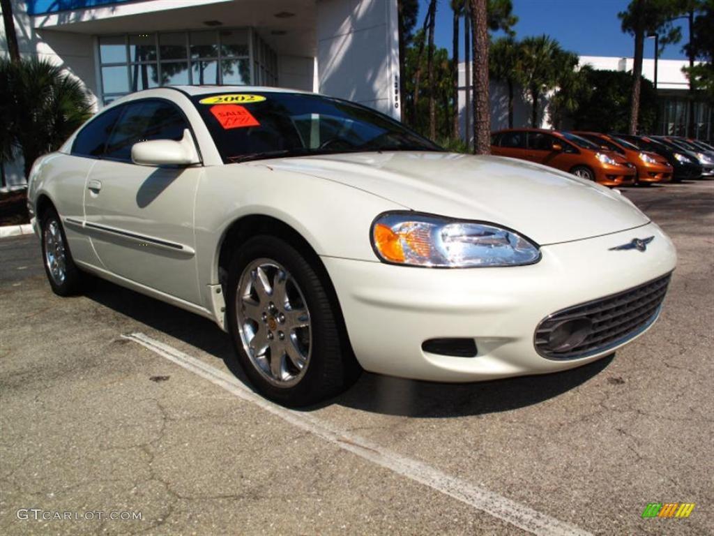 2002 Sebring LXi Coupe - Stone White / Dark Slate Gray photo #1