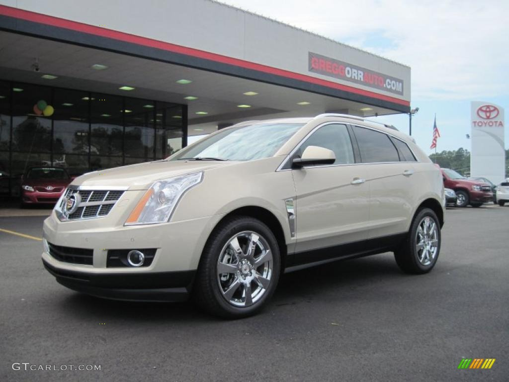 2011 Gold Mist Metallic Cadillac Srx 4 V6 Awd 36480292 Car Color Galleries