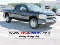 2011 Imperial Blue Metallic Chevrolet Silverado 1500 LT Extended Cab 4x4  photo #1