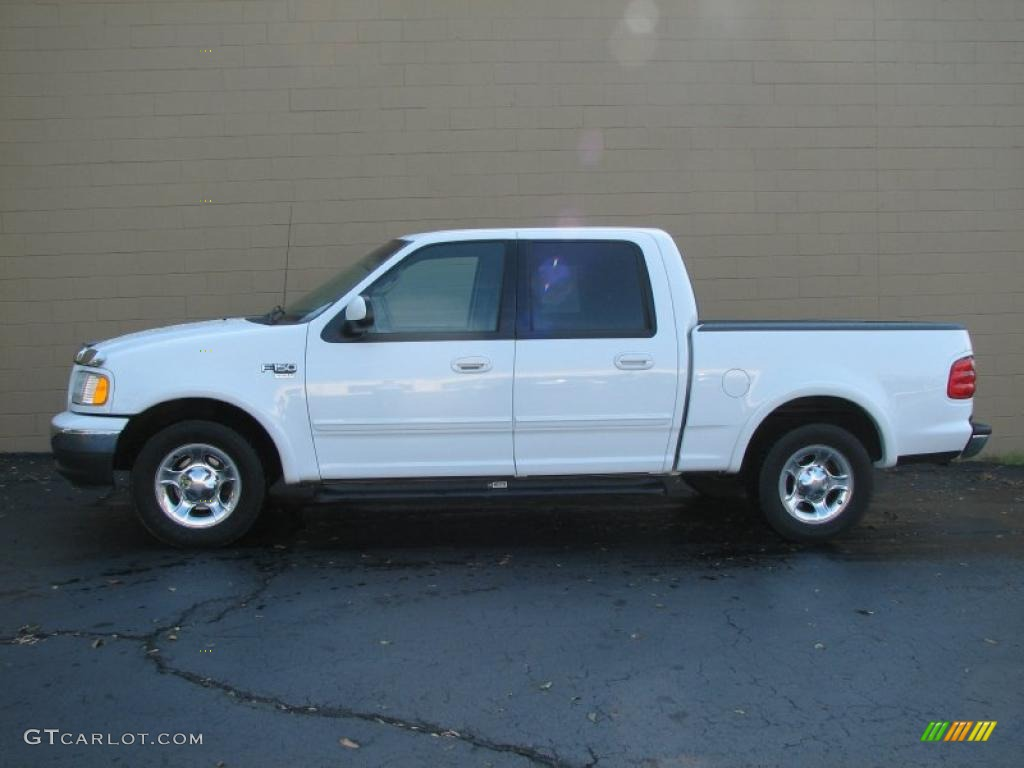 2002 oxford white ford f150 lariat supercrew 36480071. Black Bedroom Furniture Sets. Home Design Ideas