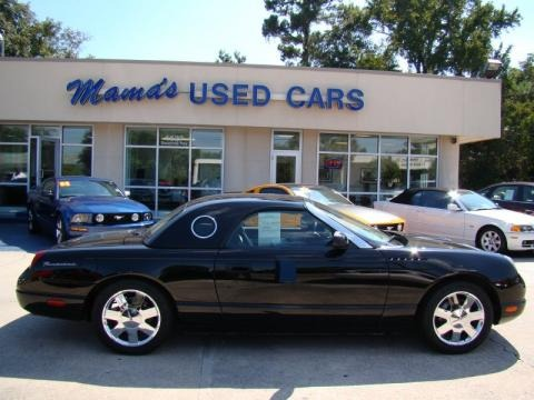 2002 Ford Thunderbird Sub Models Deluxe Roadster Neiman Marcus Edition